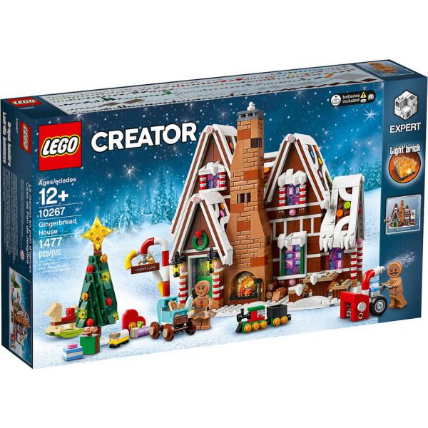 Albero Di Natale Lego.Lego Creator Expert 10267 Casa Di Pan Di Zenzero Mattoncini Net