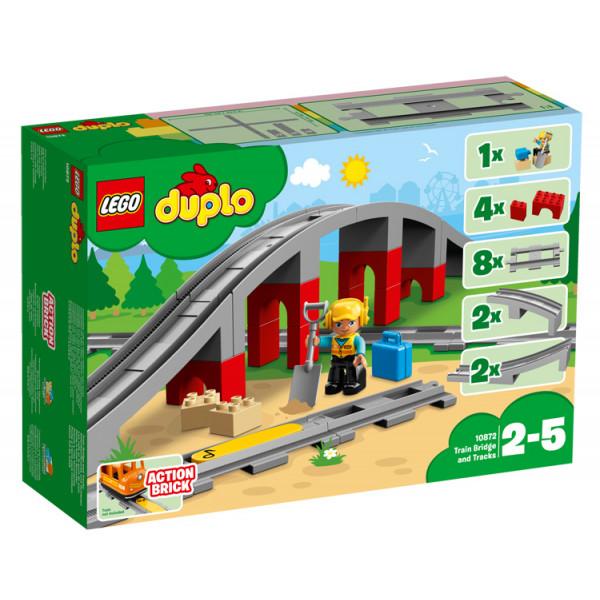 Ponte e binari ferroviari