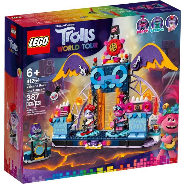 Lego Trolls 41254 - Concerto a Vuclcano Rock City