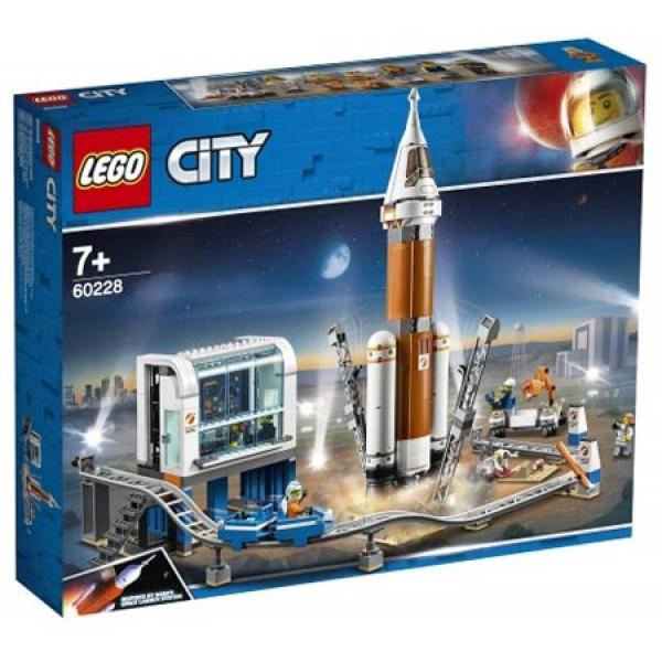 LEGO 60228 - Razzo spaziale e centro di controllo