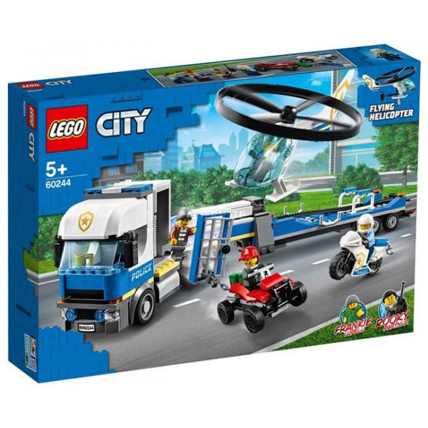 Trasportatore di elicotteri della polizia