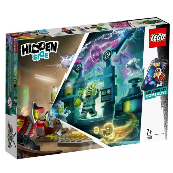 LEGO 70418 Il laboratorio spettrale di J.B.
