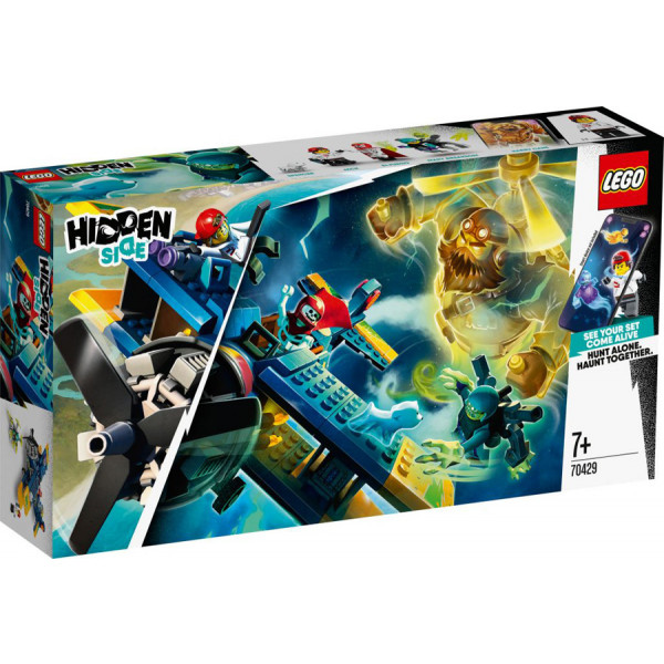 Lego 70429 - L'aereo acrobatico di El Fuego