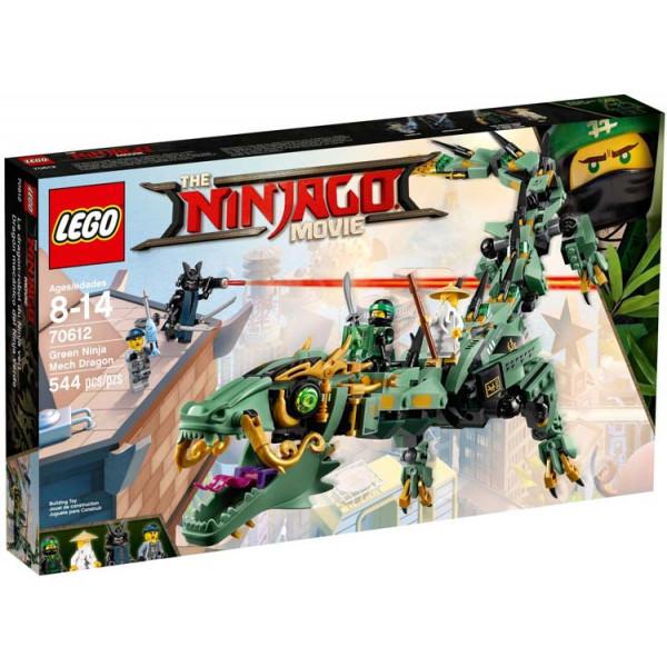 Drago Mech Ninja verde