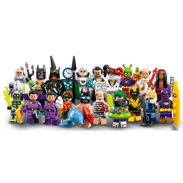 Minifigures The LEGO Batman Movie serie 2