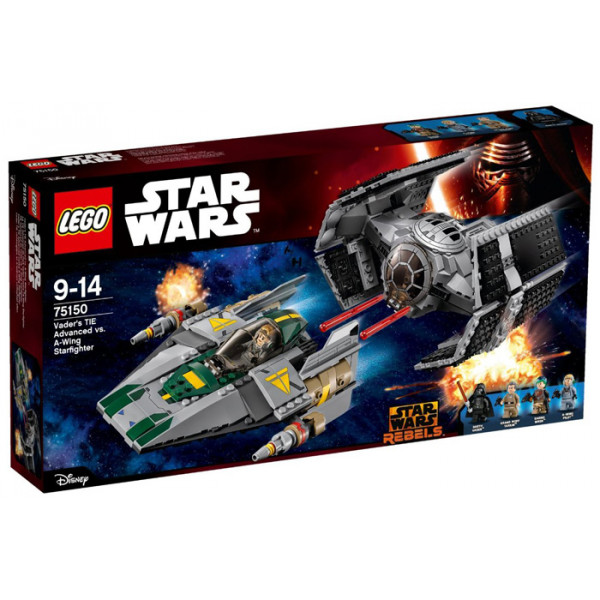 TIE Advanced di Vader contro A-Wing Fighter