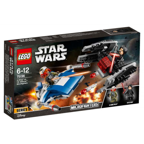A-Wing contro Microfighter TIE Silencer