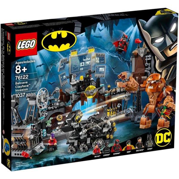 LEGO 76122 Clayface e l'invasione della bat-caverna
