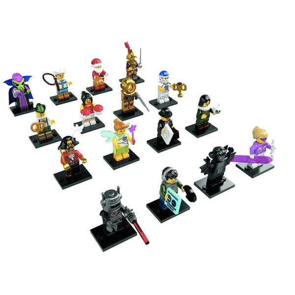 Minifigures serie 8