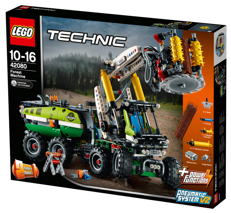 LEGO 42080 Macchina forestale TECHNIC 10-16 Pz 1003