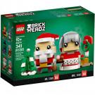 Brick Headz Babbo Natale e Signora Natale