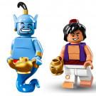 Minifig Aladdin e il Genio della lampada