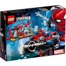 Salvataggio sulla moto di Spider-Man