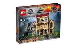 Lego Attacco dell'Indoraptor al Lockwood Estate