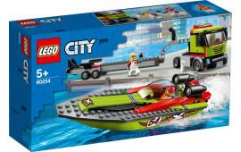 Lego City 60254 Trsportatore di motoscafi