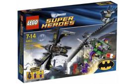 Bat aereo sopra Gotham City