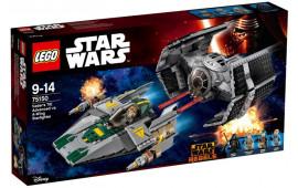 TIE Advanced di Vader contro A-Wing Fighter