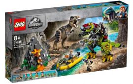 Battaglia tra T. rex e Dino-Mech