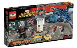 Super Heroes airport battle
