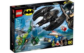 Bat-aereo di Batman e la rapina dell'Enigmista