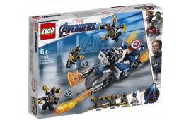 LEGO 76123 Captain America attacco degli Outrider