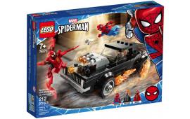 Spider-Man e Ghost Rider vs Carnage