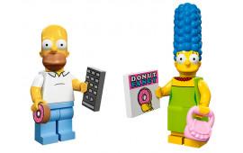 Minifigures Marge e Homer Simpson