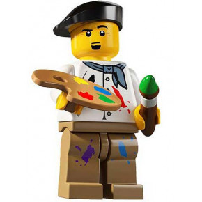 Minifig Pittore