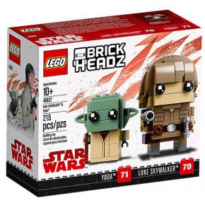 Luke Skywalker e Yoda