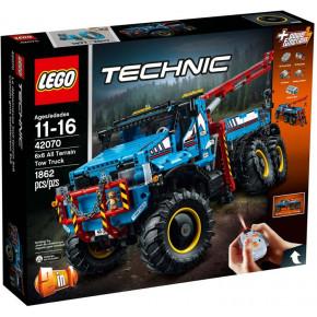 Lego Camion Autogrù 6x6