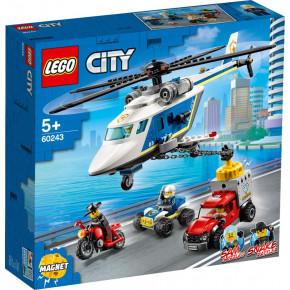 Inseguimento sull'elicottero della polizia