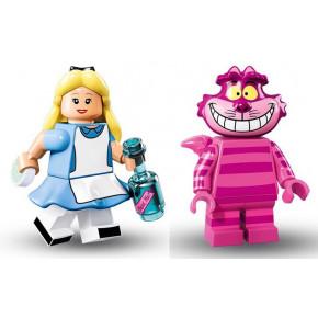 Minifig Alice e lo Stregatto
