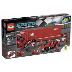 Camion trasportatore F14 e Scuderia Ferrari
