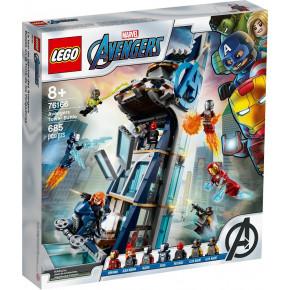 Battaglia sulla torre degli Avengers