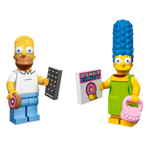 Minifigures Marge e Homer Simpson